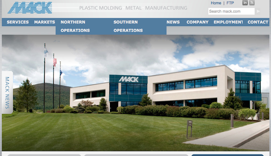 Mack Molding – Jeff Somple – President – Entire Organization